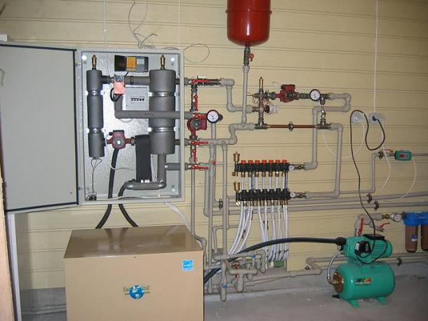 Использование геотермального отопления