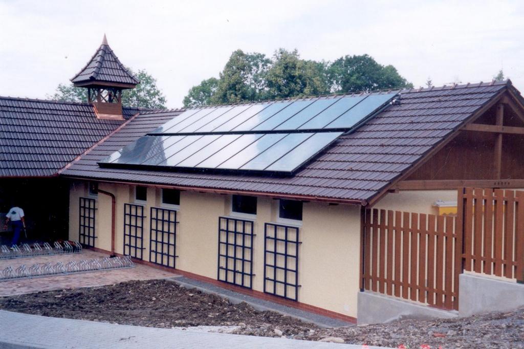 Альтернативное отопление – солнечные коллекторы